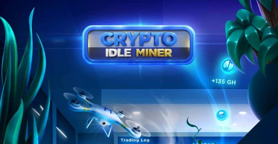 Earn real cryptocurrency from playing Crypto Idle Miner