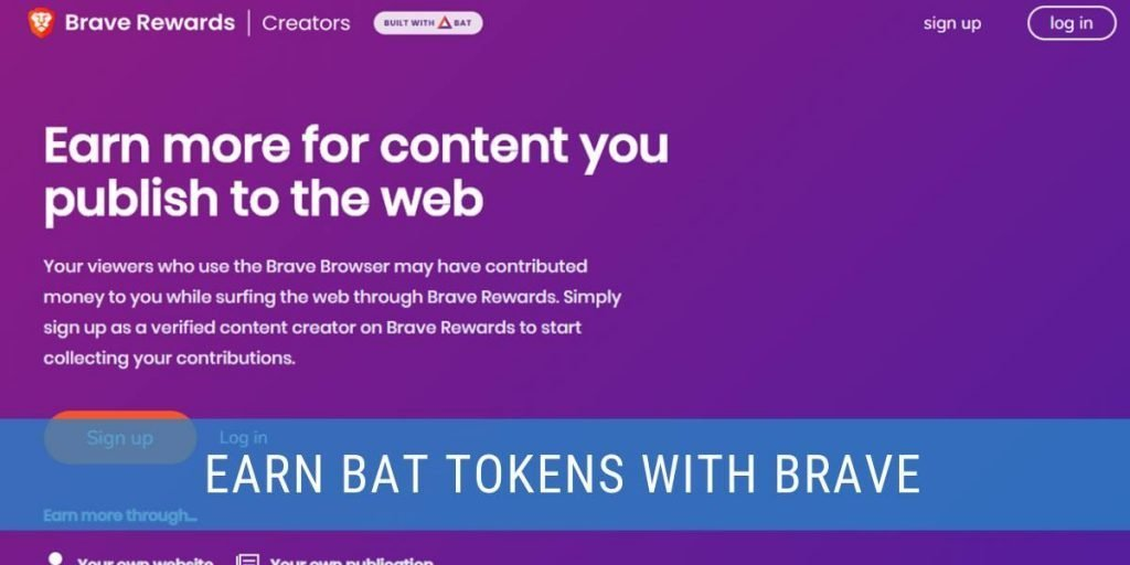 Earn Basic Attention Tokens from using the Brave browser