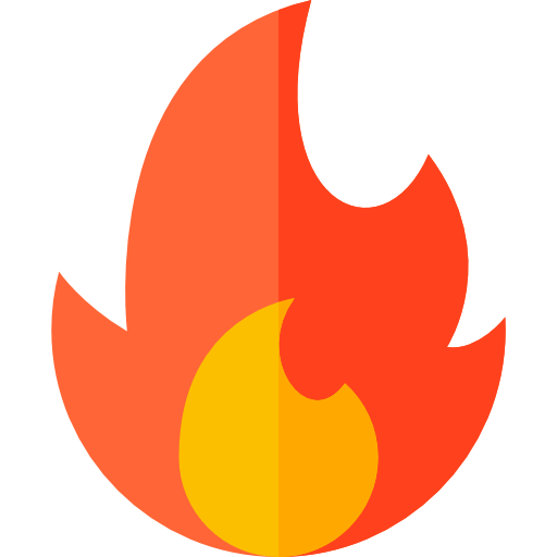 Fire Icon provided by flaticon icons.